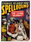 Golden Age (1938-1955):Horror, Spellbound #10 (Atlas, 1952) Condition: VG....