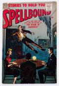 Silver Age (1956-1969):Horror, Spellbound #34 (Atlas, 1957) Condition: VG/FN....