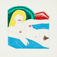 Tom Wesselmann (American, 1931-2004) Shiny Nude (from the Rubber Stamp Portfolio), 1977 Rubber stamp