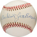 Baseball Collectibles:Balls, 1970's Bullet Joe Bush Single Signed Baseball. ...