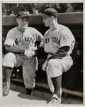 Baseball Collectibles:Photos, 1939 Lou Gehrig Ends His Streak Original News Photograph, PSA/DNAType 1....