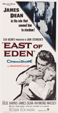 """Movie Posters:Drama, East of Eden (Warner Brothers, R-1957). Three Sheet (41"""" X 80"""")....."""