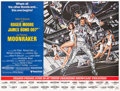 "Movie Posters:James Bond, Moonraker (United Artists, 1979). Subway (44.5"" X 59"") Advance Style.. ..."