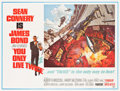 "Movie Posters:James Bond, You Only Live Twice (United Artists, 1967). Subway (44.75"" X 59""). Style A.. ..."