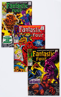Fantastic Four Box Lot (Marvel, 1968-80) Condition: Average FN.... (Total: 21 Comic Books)