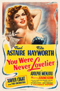 """Movie Posters:Musical, You Were Never Lovelier (Columbia, 1942). One Sheet (27"""" X 41"""") Style B.. ..."""