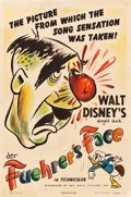 "Movie Posters:Animation, Donald Duck in Der Fuehrer's Face (RKO, 1942). One Sheet (27.25"" X41"").. ..."