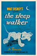 "Movie Posters:Animated, Pluto in The Sleep Walker (RKO, 1942). One Sheet (27.25"" X 41"").. ..."
