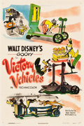 "Movie Posters:Animation, Goofy in Victory Vehicles (RKO, 1943). One Sheet (27"" X 41"").. ..."