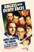"Movie Posters:Crime, Angels with Dirty Faces (Warner Brothers, 1938). One Sheet (27"" X40.5"").. ..."