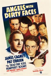 "Angels with Dirty Faces (Warner Brothers, 1938). One Sheet (27"" X 40.5"")"