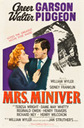 "Movie Posters:Drama, Mrs. Miniver (MGM, 1942). One Sheet (27"" X 41"") Style C.. ..."