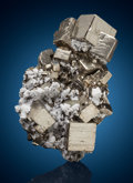 Minerals:Cabinet Specimens, Pyrite. Huanzala Mine, Huallanca District, Dos de Mayo Province,Huánuco Department, Peru. ...
