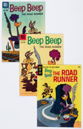 Bronze Age (1970-1979):Cartoon Character, Beep Beep, the Road Runner Group of 15 - White Mountain pedigree(Gold Key, 1966-75) Condition: Average FN/VF.... (Total: 15 ComicBooks)