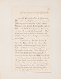 """Books:Manuscripts, O. Henry [pseudonym for William Sydney Porter, 1862-1910]. Original Manuscript for an Unpublished Short Story, """"A New Candidat..."""