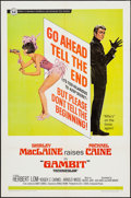 """Movie Posters:Crime, Gambit & Other Lot (Universal, 1967). One Sheets (2) (27"""" X 41""""). Crime.. ... (Total: 2 Items)"""