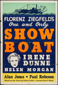 """Movie Posters:Musical, Show Boat (Universal, 1936). Leader Press One Sheet (28"""" X 41""""). Musical.. ..."""