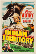 "Movie Posters:Western, Indian Territory (Columbia, 1950). One Sheet (27"" X 41""). Western.. ..."