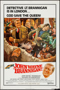 "Movie Posters:Crime, Brannigan (United Artists, 1975). One Sheet (27"" X 41""). Crime....."