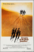 """Movie Posters:Science Fiction, Invasion of the Body Snatchers & Other Lot (United Artists, 1978). One Sheets (2) (27"""" X 41"""") Advance. Science Fiction.. ... (Total: 2 Items)"""