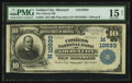 National Bank Notes:Missouri, Golden City, MO - $10 1902 Plain Back Fr. 631 The Citizens NB Ch. #(M)10633. ...