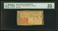 Colonial Notes:New Jersey, New Jersey March 25, 1776 18d PMG Choice Very Fine 35.. ...
