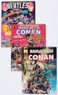 Magazines:Miscellaneous, Marvel Magazines Group (Marvel, 1974-78) Condition: AverageVF/NM.... (Total: 9 Item)