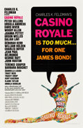 """Movie Posters:James Bond, Casino Royale (Columbia, 1967). One Sheet (27"""" X 41"""") and Newspaper Promo (16"""" X 21.5"""").. ... (Total: 2 Items)"""