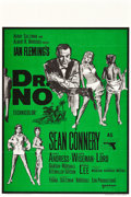 "Movie Posters:James Bond, Dr. No (United Artists, R-1968). British Double Crown (20"" X 30"").. ..."