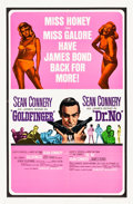 """Movie Posters:James Bond, Goldfinger/Dr. No Combo (United Artists, R-1966). One Sheet (27"""" X 41"""").. ..."""