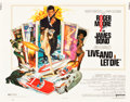 "Movie Posters:James Bond, Live and Let Die (United Artists, 1973). Half Sheet (22"" X 28"") andInsert (14"" X 36"").. ... (Total: 2 Items)"