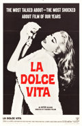"""Movie Posters:Foreign, La Dolce Vita (Astor, 1961). One Sheet (27"""" X 41"""").. ..."""