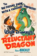 """Movie Posters:Animation, The Reluctant Dragon (RKO, 1941). One Sheet (27"""" X 41"""").. ..."""
