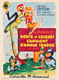 """Mr. Bug Goes to Town (Paramount, 1946). French Grande (47"""" X 63.5""""). Animation"""