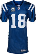 Football Collectibles:Uniforms, 2009 Peyton Manning Game Worn, Signed Indianapolis Colts Jersey - Worn 9/13 with Photomatch! ...