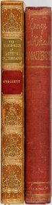 Books:Literature Pre-1900, George Cruikshank, illustrator. Pair of Titles. London: [variouspublishers, various dates].... (Total: 2 Items)