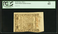 Colonial Notes:Rhode Island, Rhode Island May 1786 1s PCGS New 61.. ...