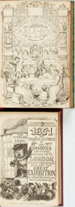 Books:Literature Pre-1900, George Cruikshank, illustrator. Pair of Titles. London: [variouspublishers, various dates circa 1850].... (Total: 2 Items)