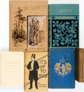 Books:Literature Pre-1900, [Nineteenth-Century Literature]. Group of Six Books, One INSCRIBED.Various publishers and dates. ... (Total: 6 Items)