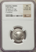 Ancients:Greek, Ancients: BOEOTIA. Thebes. Ca. 368-364 BC. AR stater (12.16 gm)....