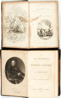 Books:Literature Pre-1900, Charles Dickens. Pair of Titles. Includes: The Life andAdventures of Nicholas Nickleby. London: Chapman and Hall, 1...(Total: 2 Items)