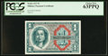 Military Payment Certificates:Series 611, Series 611 $1 PCGS Choice New 63PPQ.. ...