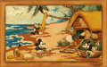 Animation Art:Production Drawing, Fab 5 Go Hawaiian Limited edition fine art reproduction oncanvas by Trevor Carlton. Signed and numbered with twohand-writt...