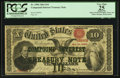Large Size:Compound Interest Treasury Notes, Fr. 190b $10 1864 Compound Interest Treasury Note PCGS ApparentVery Fine 25.. ...