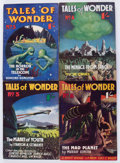 Pulps:Science Fiction, Tales of Wonder #3-6 Group (World's Work, 1938-39) Condition:Average FN-.... (Total: 4 Comic Books)