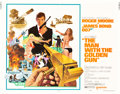 "Movie Posters:James Bond, The Man with the Golden Gun (United Artists, 1974). Half Sheet (22"" X 28"") and Insert (14'"" X 36"").. ... (Total: 2 Items)"