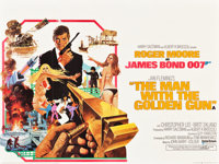 "The Man with the Golden Gun (United Artists, 1974). British Quad (30"" X 40"")"