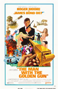 "Movie Posters:James Bond, The Man with the Golden Gun (United Artists, 1974). One Sheets (2)(27"" X 41"") Style A and Advance Style.. ... (Total: 2 Items)"