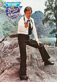 "The Man with the Golden Gun (United Artists, 1974). British Crowns (2) (16.5"" X 23.5"") Dupont Promotion. ... (..."