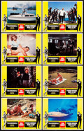 "Movie Posters:James Bond, Thunderball/From Russia With Love Combo (United Artists, R-1968). Lobby Card Set of 8 (11"" X 14"").. ... (Total: 8 Items)"